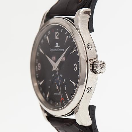 Jaeger-lecoultre, master moon calendar, armbandsur, 37 mm.