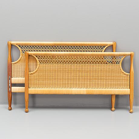 Josef frank, a pair of model 960 bed-ends by svenskt tenn.