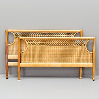 Josef Frank, a pair of model 960 bed-ends by Svenskt Tenn.