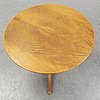Josef frank, a model 1028 coffee table for firma svenskt tenn, second half of 20th century.