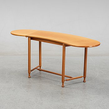 Josef Frank, a model 1133 folding table by Svenskt Tenn, Sweden.