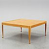 Josef frank, a model 2073 'diplomat' coffee table by for firma svenskt tenn, designed in 1949, executed before 1985.