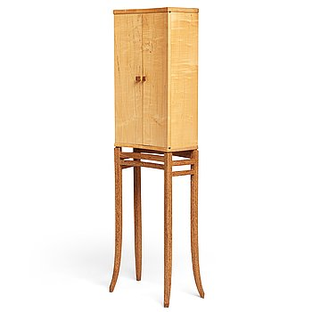 6. James Krenov, a cabinet, executed in his own workshop, Bromma, Sweden ca 1979.