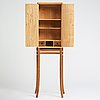 James krenov, a cabinet, executed in his own workshop, bromma, sweden ca 1979.