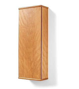 7. James Krenov, a wall cabinet, executed in his own workshop, Bromma, Sweden ca 1973.