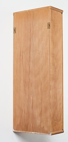 James krenov, a wall cabinet, executed in his own workshop, bromma, sweden ca 1973.