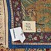 A rug, semi-antique oriental, ca 225 x 143 cm.