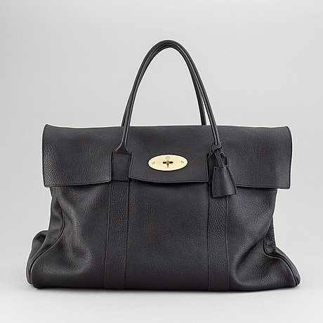 Mulberry, a 'piccadilly' weekend bag.