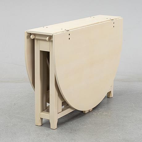 A 'bergslagen' gate leg table from ikea, 1990's.
