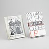 Two photobooks with dedication to lennart nilsson.
