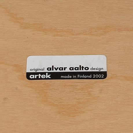 Alvar aalto, a birch coffee table, artek, finland, 2002.