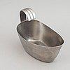 "A set of stainless steel flatware, 191 pcs, ""thebe"", design folke ahström for gense, sweden, 1950/60s."