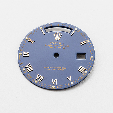 Dial, for rolex oyster perpetual day-date (t swiss t).