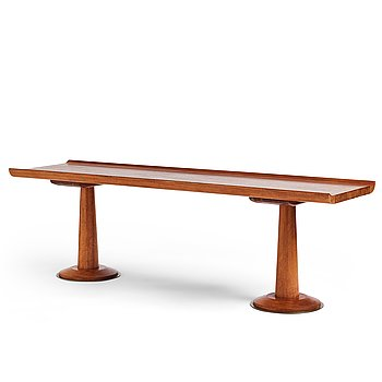 406. An occasional table, probably Denmark 1950's.