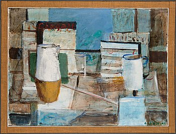 Armas Vainio, oil on canvas, signed and dated -67.