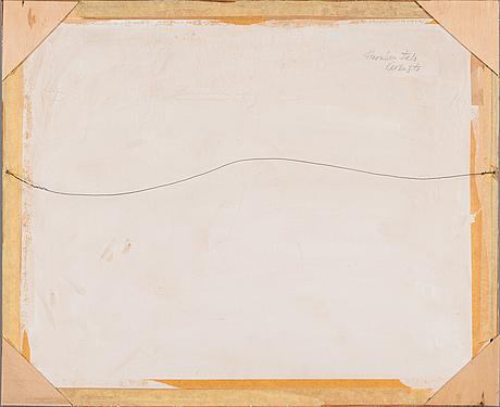 Into linturi, akvarell, signerad och daterad 1955.