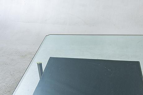 "Paolo nava och antonio citterio, coffee table ""diesis""  for b&b italy ca 1980."