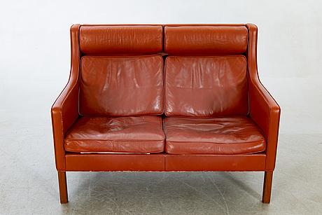 Soffa, börge mogensen för fredericia stolefabrik, modellnummer 2432.