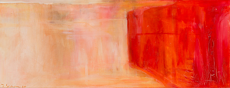Riikka soininen, oil on canvas, signed and dated 2000.