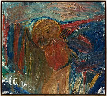 Erland Cullberg, oil on canvas, signed.