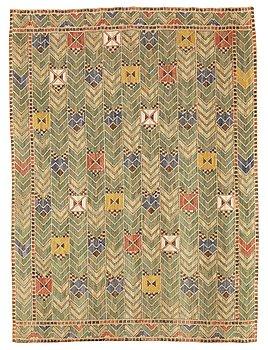 """209. Märta Måås-Fjetterström, a drape, """"Rågen"""", flat weave, ca 218,5-219,5 x 160,5-162 cm, signed AB MMF."""