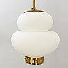 Bernt karlby taklampa  'peanut' för lyfa danmark 1900-talets mitt.