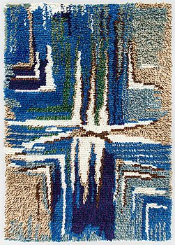 Ellen Alakanto, a Finnish long pile rug for Sylvi Salonen.