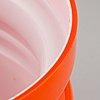 "Po ström, a set of 4 ""s 5020"" , 1 large bowl ""s 5017"" and 1 small bowl, alsterfors glassworks, sweden."