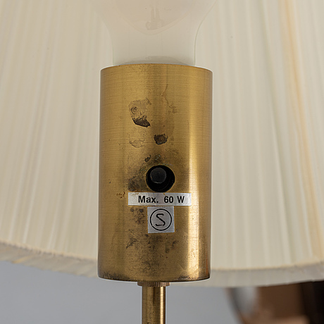 """Josef frank, golvlampa, modell 2548 """"kryckan"""", för firma svenskt tenn."""