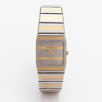 Baume et Mercier, wristwatch, 20 x 25 mm.