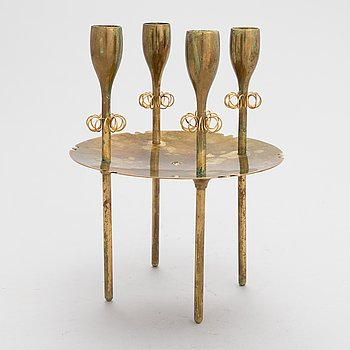 Paavo Tynell, a 1930's candelabrum for Taito.