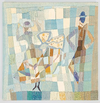 Eva Anttila, a tapestry dated EA.