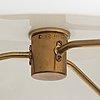 Bertil brisborg, two ceiling lamps for nordiska kompaniet 1940's-50's.