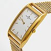 Baume mercier wristwatch, 36 x 24 mm, quartz movement, total length 16,5-17 cm.