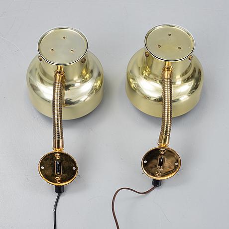 Anders pehrson,  two 'bumling' wall amps, ateljé lyktan åhus.
