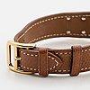 Hermès, medor, armbandsur, 23 x 32 mm.