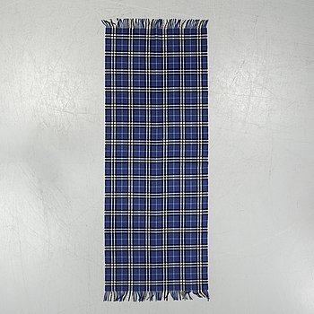 Burberry, a wool and cashmere shawl.