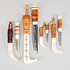 A set of four sami knives.