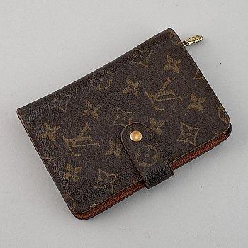Louis Vuitton, a monogram canvas wallet.