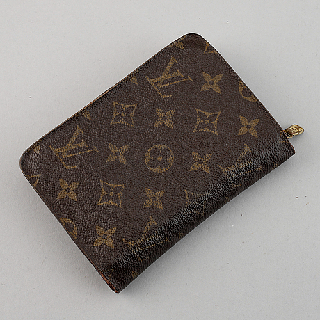 Louis vuitton, plånbok.