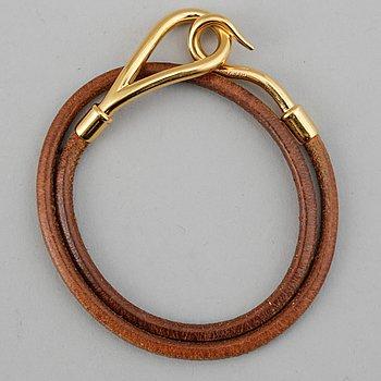 Hermès, a 'Jumbo' bracelet.