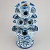 Tulip vase, faiance, italy,