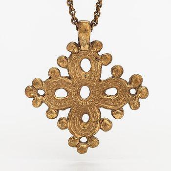 A bronze necklace. Kalevala Koru, Helsinki.