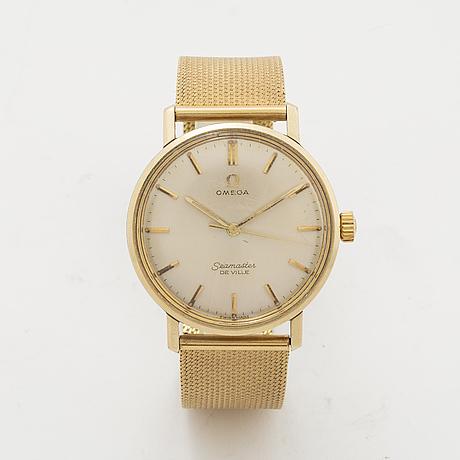 Omega, seamaster, de ville, wristwatch, 34 mm.