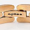A 14k gold bracelet. kultateollisuus, turku 1958.