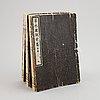 "Linuma yokusai (1782-1865), efter, böcker, 3 volymer, ""somoku zusetsu""."