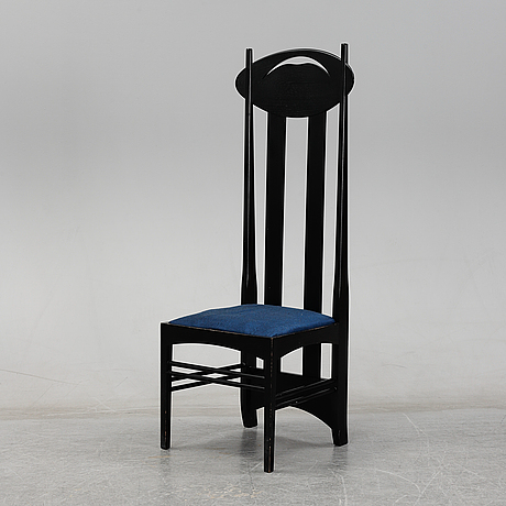 An 'argyle' chair by charles rennie mackintosh, for cassina, no 2310.