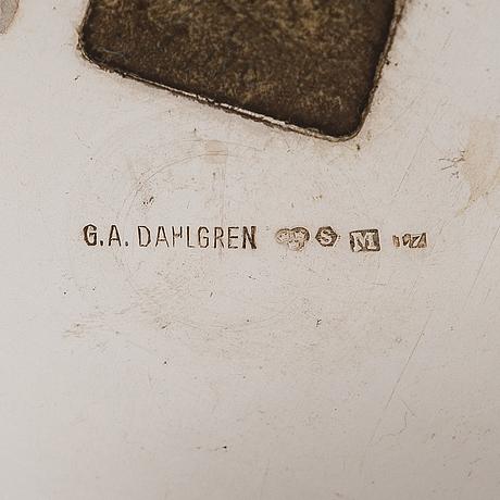 A swedish silver beaker, maker's mark of g a dahlgren, malmö 1913.