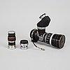 "Leica iiif, ""black dial"", 1951-52, chrome."