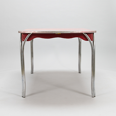 A 1950's dining table for virtue brothers of california.